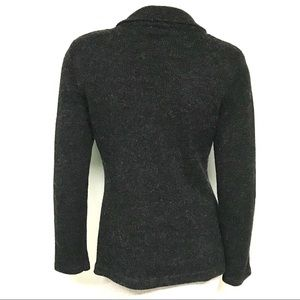 CAbi Sweaters - CAbi charcoal retro cardigan
